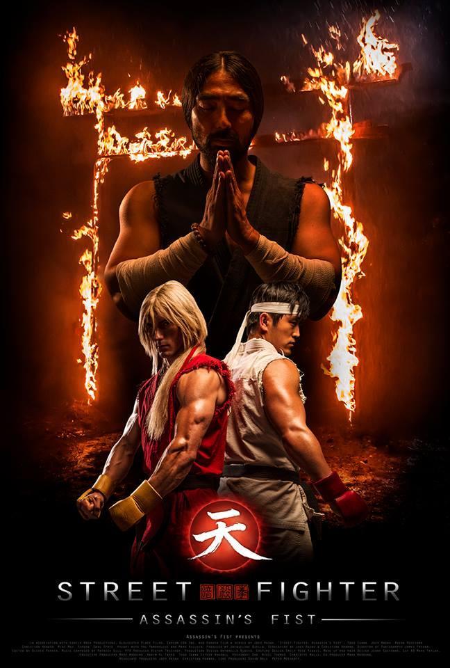 Assassins Fist first official poster Ken and Ryu